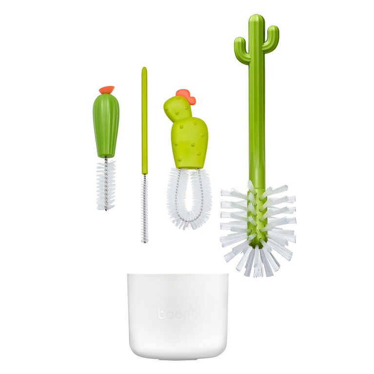 Boon Cacti Bottle Cleaning Brush Set 4 piece