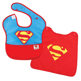 Bumkins Caped Superbib - Superman
