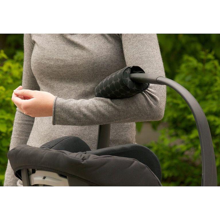 JJ Cole Car Seat Arm Cushion - Gray Drops