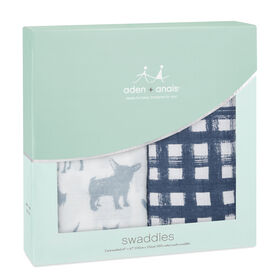 Aden & Anais - Swaddle - chiens.