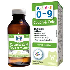 Homeocan enfants 0-9 toux et rhume.