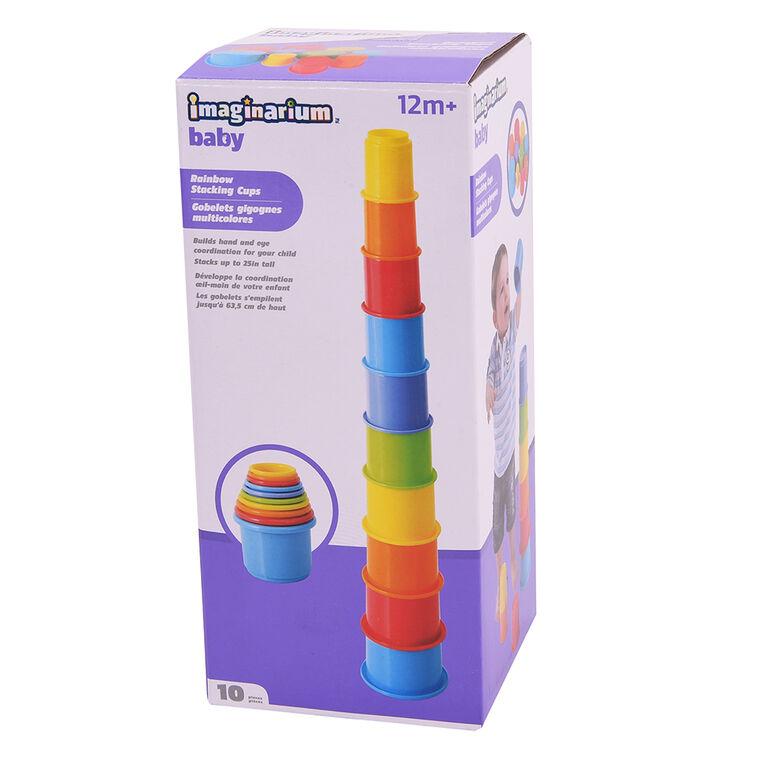 Imaginarium Baby - Rainbow Stacking Cups