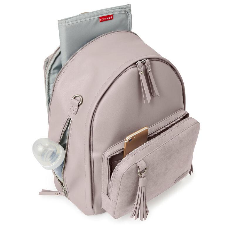 Skip Hop Greenwich Simply Chic Diaper Backpack - Portobello