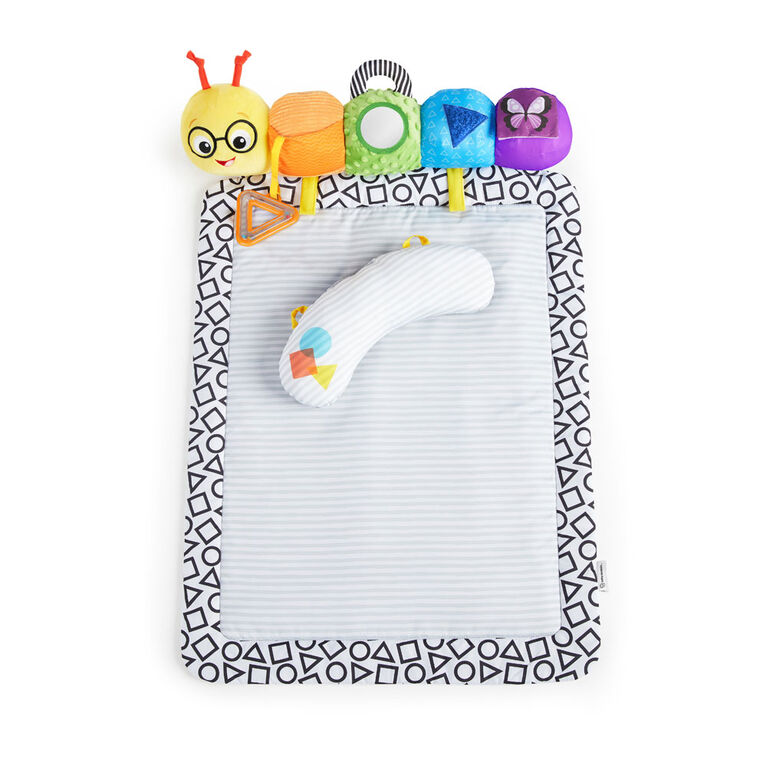 Baby Einstein 3-in-1 Travel-pillar Tummy Mat