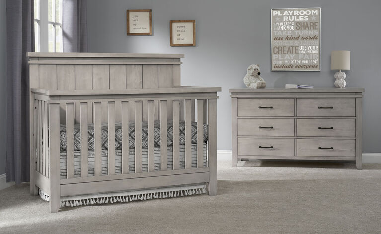 Sanibel 4 In 1 Convertible Crib Moon Dust R Exclusive