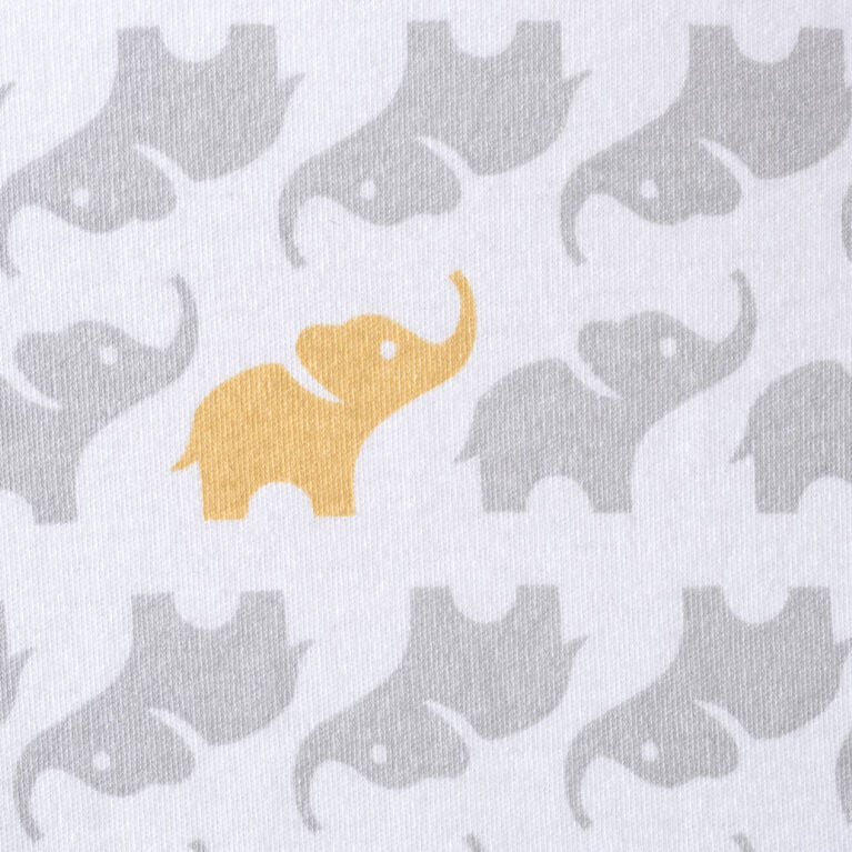 Sac de nuit SleepSack de HALO - Coton - Éléphant gris - Grand.