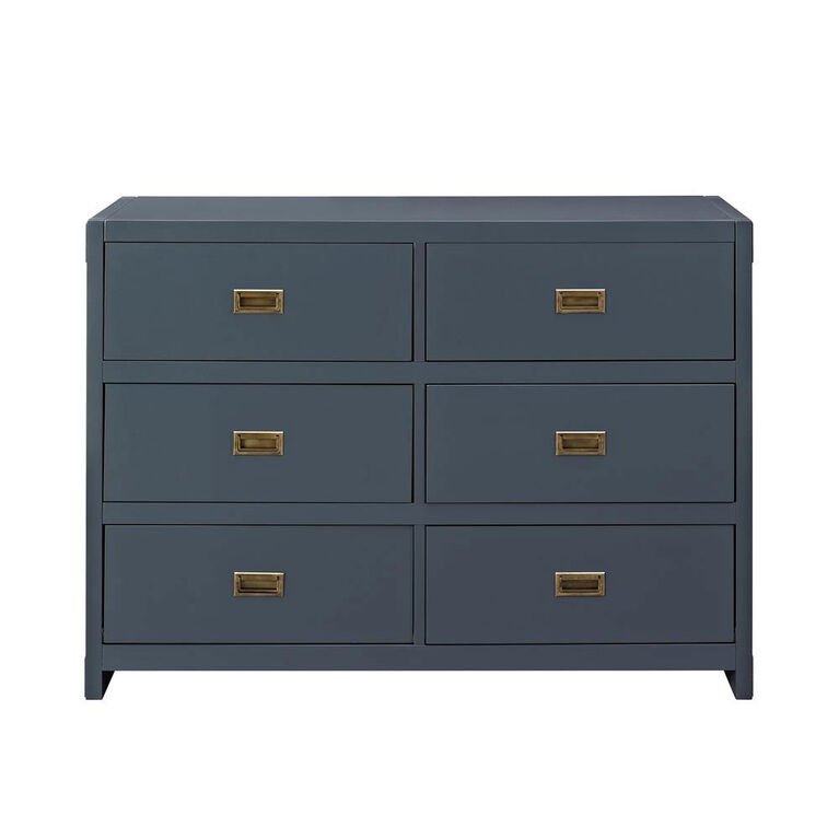Baby Relax Miles 6-Drawer Dresser - Blue||Baby Relax Miles ...