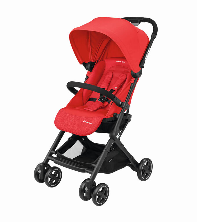 Lara RS Ultracompact Stroller - Nomad Red
