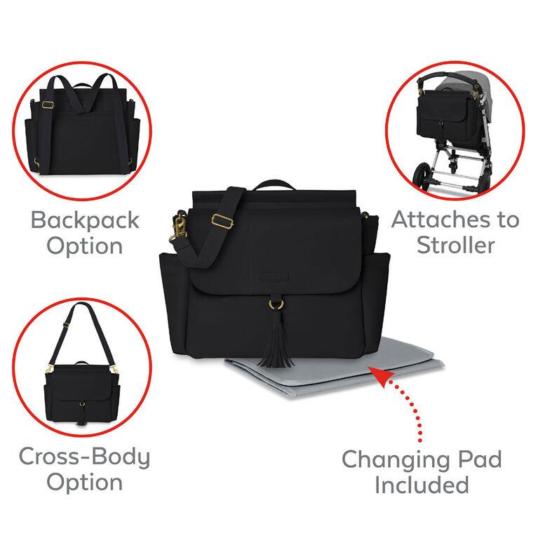 SKIP HOP Grenwich Convertable Backpack - Black