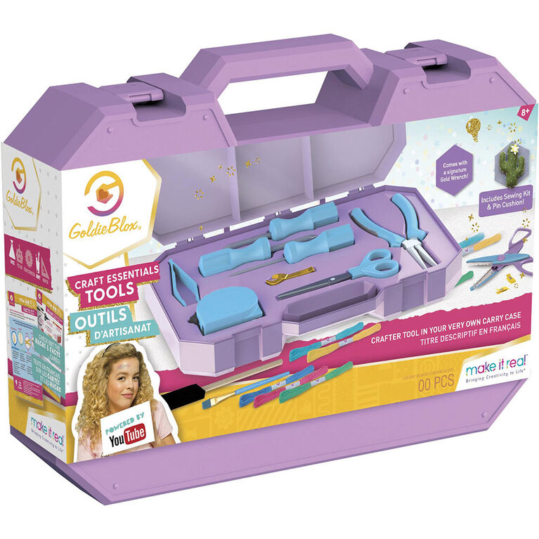Goldie Blox Craft Tool Kit - Colours May Vary