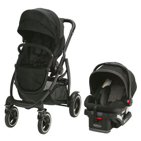 Graco EVO XT Quad Travel System - Iron - R Exclusive