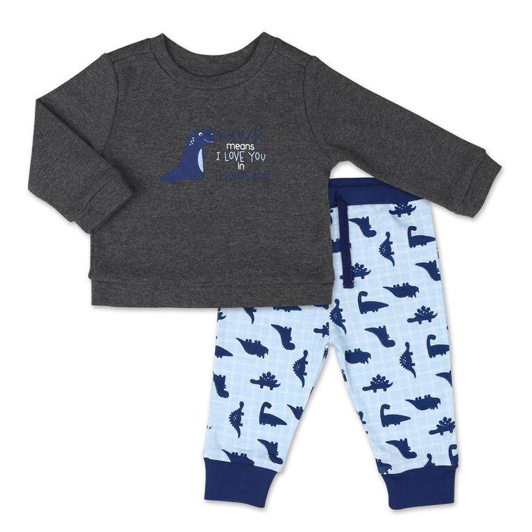Koala Baby Dinomite Boy Long Sleeve Shirt and Pants Set - 18 Months