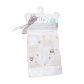 Lulujo - Modern Llama Security Blanket