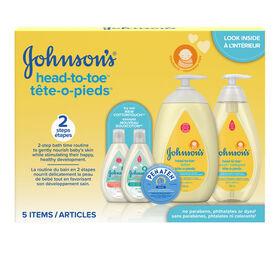 Johnsons Baby Travel Essentials