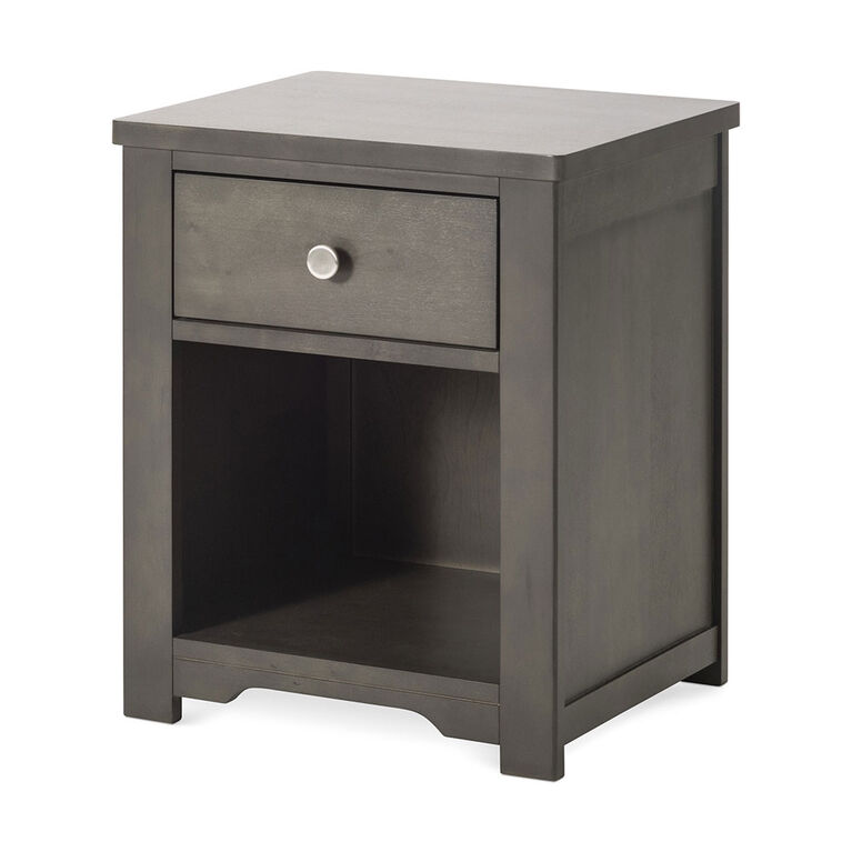 Forever Eclectic by Child Craft - Harmony Night Stand - Dapper Gray