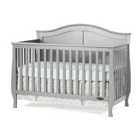 Lit pour bébé transformable Camden 4 en 1 de Child Craft - gris métallisé.