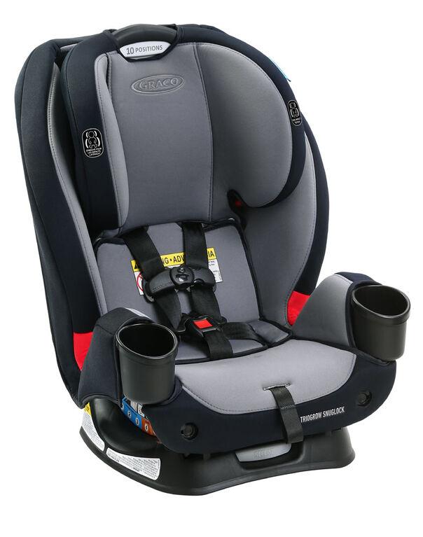 Graco TrioGrow SnugLock 3-in-1 Car Seat Featuring  Anti-Rebound Bar, Drew - R Exclusive