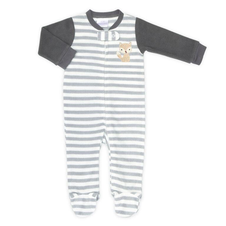 """Dormeuse en polaire """" Striped Fox """" de Koala Baby - taille 9 - 12 mois"""