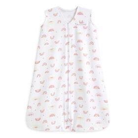 Halo Sleepsack Wearable Blanket - 100% Cotton - Sunshine Rainbows - Medium