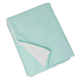 Lolli by Lolli Living Stroller Blanket - Mint Rocks