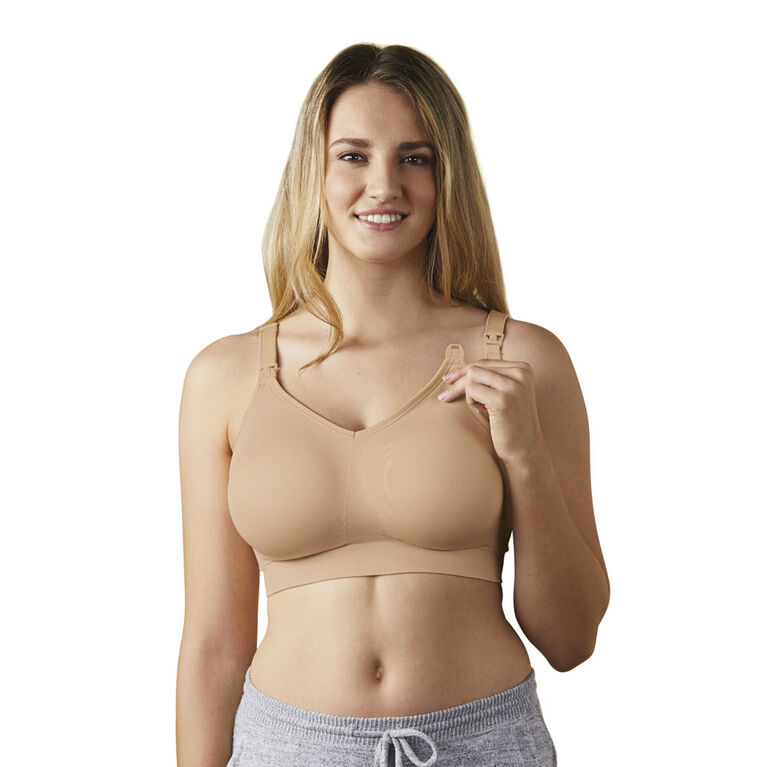 Bravado Designs Body Silk Seamless Nursing bra - Butterscotch, Large