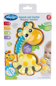 Playgro - Squeak and Soothe Natural Teether