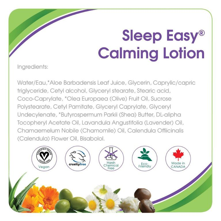 Aleva Naturals Sleep Easy Calming Lotion 240ml