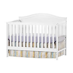 Child Craft - Sidney 4-in-1 Convertible Crib - White Wash
