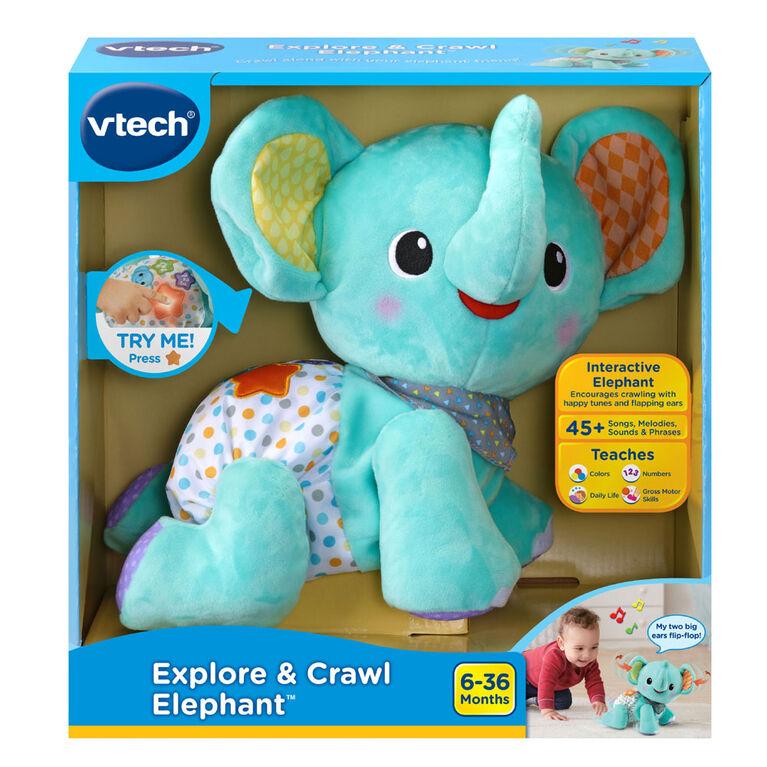 VTech Explore & Crawl Elephant - English Version