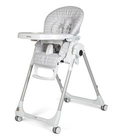 Peg Perego - Prima Pappa Zero3  Highchair- Linear Grey
