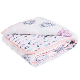 aden by aden + anais muslin blanket, pretty pink
