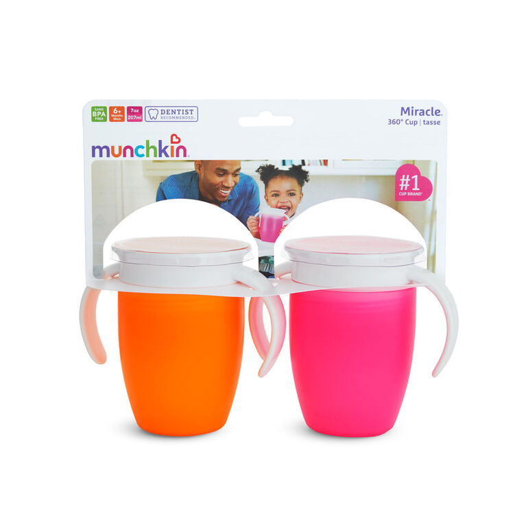 Miracle® 360° Trainer Cup 7oz -2 Pack