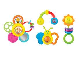 Imaginarium Baby - Garden Pals Rattle Set