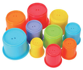 Imaginarium Baby - Rainbow Stacking Cups
