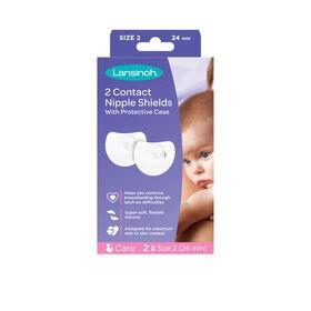 Lansinoh Contact Nipple Shields 24 mm