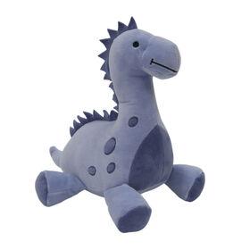 Originaux de l'heure du lit – Dinosaure en peluche Rugissement – Rex – Bleu.