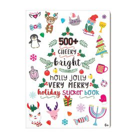 Cheery Bright Merry Holiday Stickers