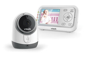 """VTech VM3253 2.8"""" Digital Video Baby Monitor with Full-Color and Automatic Night Vision - White"""