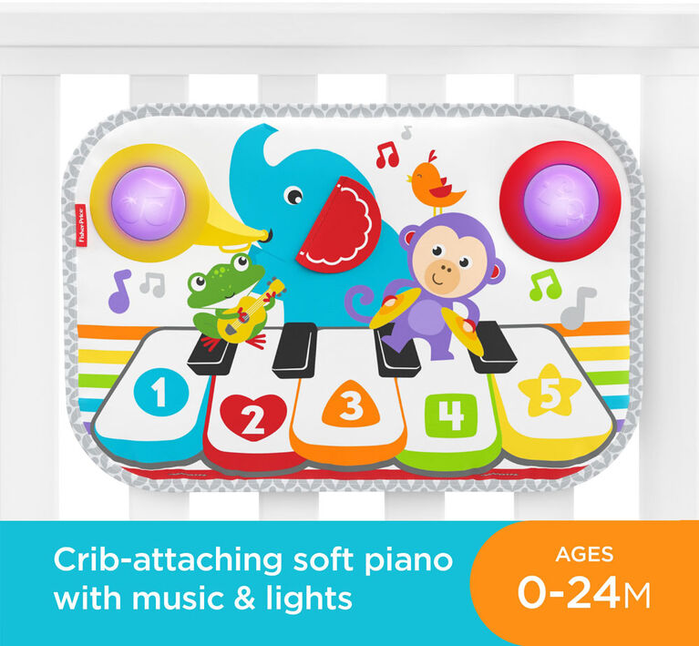 Fisher-Price Smart Stages Kick & Play Piano - English Edition