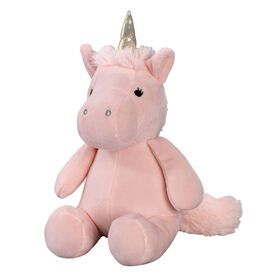 Bedtime Originals - Rainbow Unicorn Plush Unicorn - Pearl - Pink