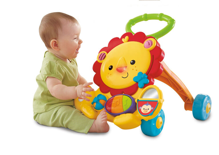 Fisher-Price - Trotteur musical Lion