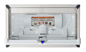 Foundations Horizontal Recessed Mount Baby Changing Station (EZ Mount Backer Plate NOT Included)