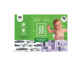 Hello Bello - Club Diaper Cars/City - Size Newborn