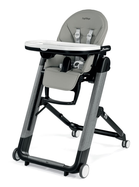 Peg-Perego - Siesta High Chair - Ambiance Grey (Eco-Leather)