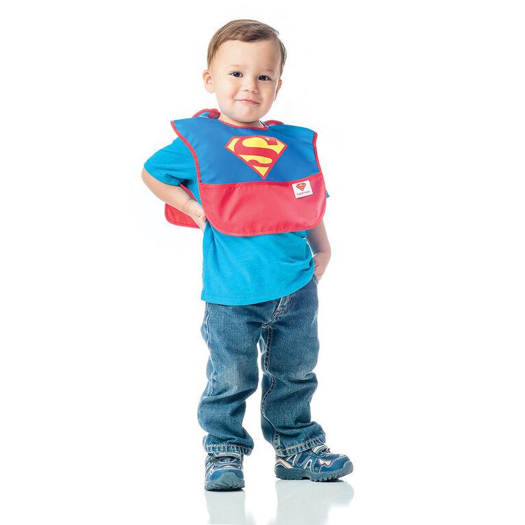 Bumkins Caped Superbib - Superman