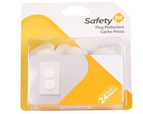 Safety 1st Press N' Pull Plug Protector - 24-Pack