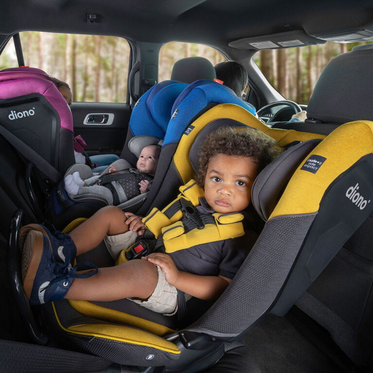 Radian 3Qx Latch All-In-One Convertible Car Seat - Red