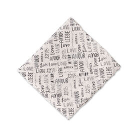 Red Rover - Cotton Muslin Swaddle Single - Love Language - R Exclusive