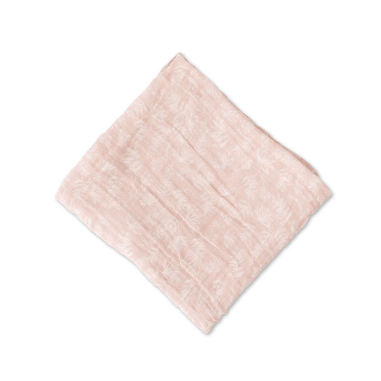 Red Rover - Cotton Muslin Swaddle Single - Pink Meadow - R Exclusive