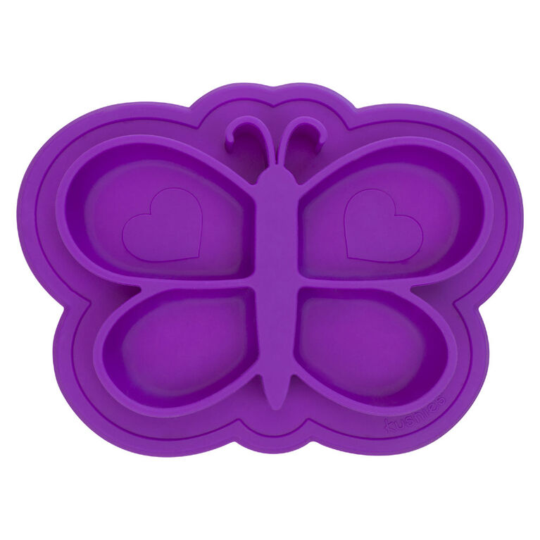 Kushies Siliplate - Violet.